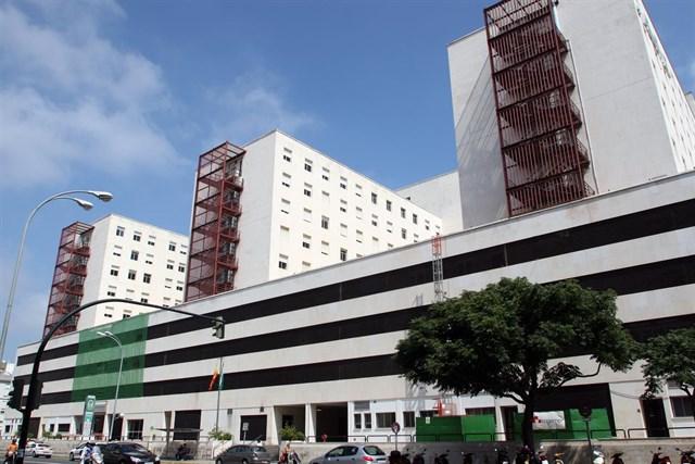 Record de tratamientos en el Hº Puerta del Mar, Cádiz