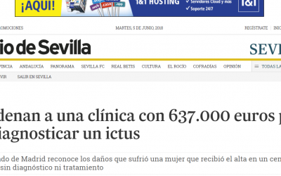 Diario de Sevilla recoge la condena por la negligencia médica en QUIRÓN.