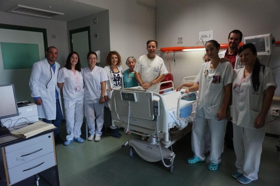 El Hospital Virgen de la Vega de Salamanca habilita para la atención de paciente con ICTUS una nueva Unidad de Hospitalización.